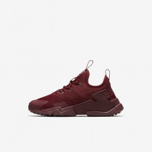 Nike Huarache Run Drift Lifestyle Shoes For Boys Team Red/White 280VNORQ