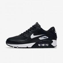 Sapatilhas Casual Nike Air Max 90 Mulher Pretas/Branco 946QGCIS