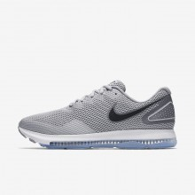 Nike Zoom All Out Low 2 Running Shoes For Men Wolf Grey/Cool Grey/Black 168FPADJ