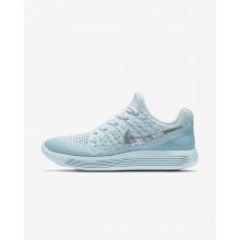 Sapatilhas Running Nike LunarEpic Low Flyknit 2 Mulher Azuis/Azuis/Cinzentas/Metal Prateadas 598NBMLV