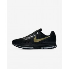 Nike Air Zoom Pegasus 34 Running Shoes For Women Black/Anthracite/White/Metallic Gold Star 177LQMEK