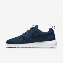 Nike Roshe One Lifestyle Shoes For Men Midnight Navy/White/Black 294KPCEV