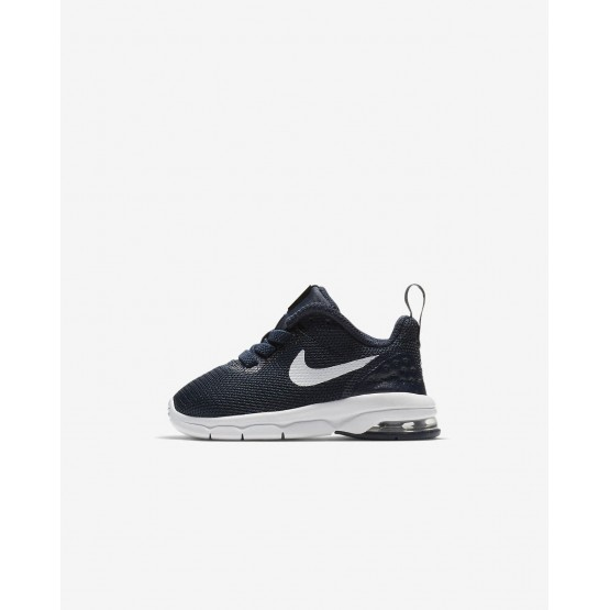 Nike Air Max Motion LW Lifestyle Shoes For Boys Obsidian/White 657MXLND