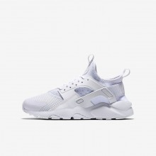 Nike Air Huarache Ultra Lifestyle Shoes For Boys White 908RAYQZ