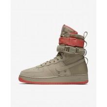 Nike SF Air Force 1 Casual Schoenen Heren Khaki/Koraal 593FLIPZ