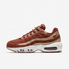 Nike Air Max 95 LX Lifestyle Shoes For Women Dusty Peach/Bio Beige/Summit White 342FOTKX