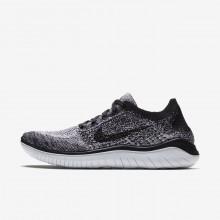 Sapatilhas Running Nike Free RN Flyknit 2018 Mulher Branco/Pretas 908UKAZE