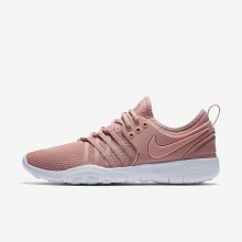 Nike Free TR7 Training Shoes For Women Rust Pink/White/Coral Stardust 209KIQLF