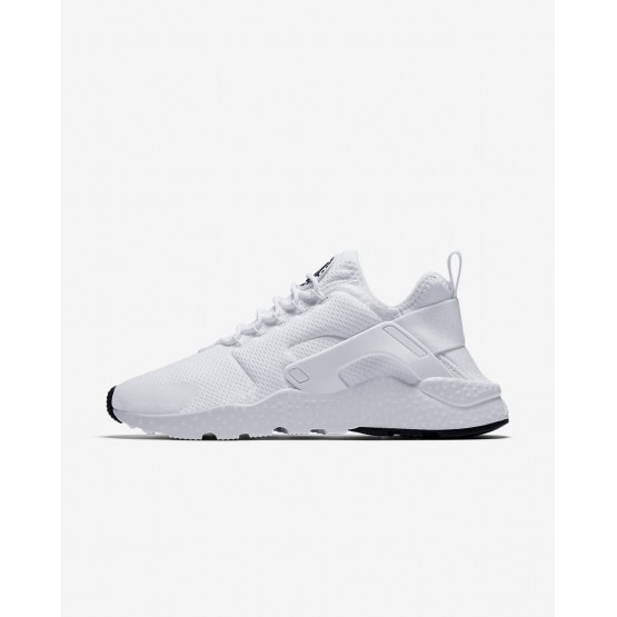 Nike Air Huarache Ultra Casual Schoenen Dames Wit/Zwart 895IGKQF