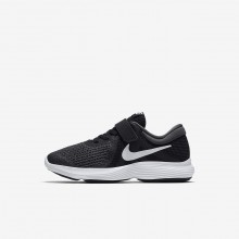 Nike Revolution 4 Running Shoes For Girls Black/Anthracite/White 870HSLEN