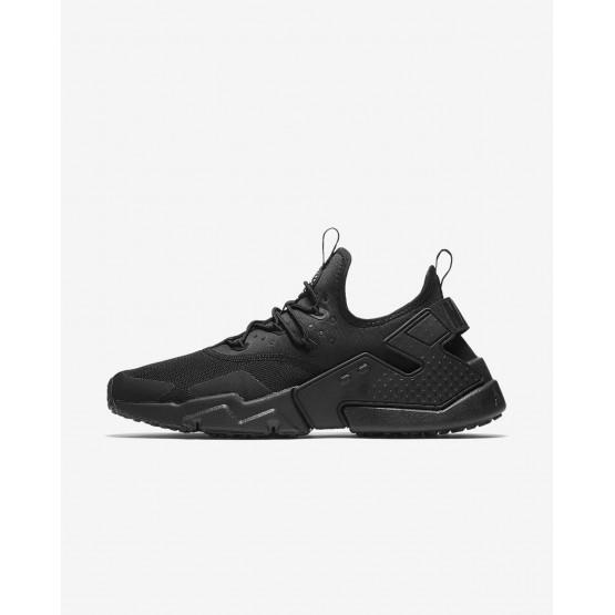 Nike Air Huarache Drift Lifestyle Shoes For Men Black/White 192MECHD