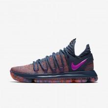 Nike Zoom KDX AS Basketball Shoes For Women Ocean Fog/Hyper Crimson/Fuchsia Blast 539MCTFL