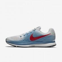 Zapatillas Running Nike Air Zoom Pegasus 34 Hombre Gris/Azules/Rojas 577UNVPY
