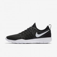 Nike Free TR7 Training Shoes For Women Black/White 169KVUJH