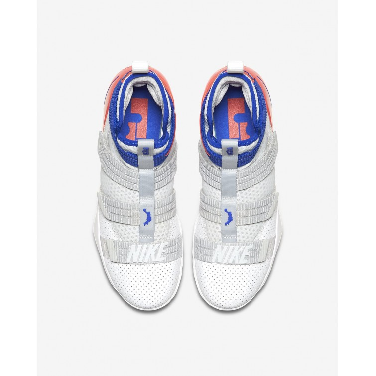 uk availability 69443 ab5a1 ... Nike LeBron Soldier XI SFG Basketball Shoes For Women White Infrared Pure  Platinum  ...