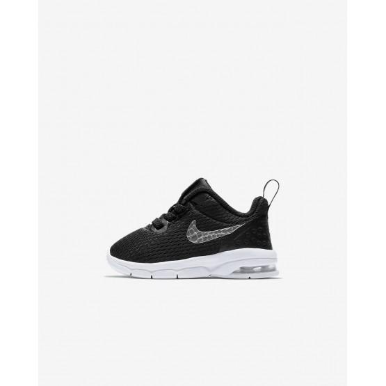 Nike Air Max Motion LW Lifestyle Shoes For Boys Black/White/Metallic Pewter 958DRFHZ