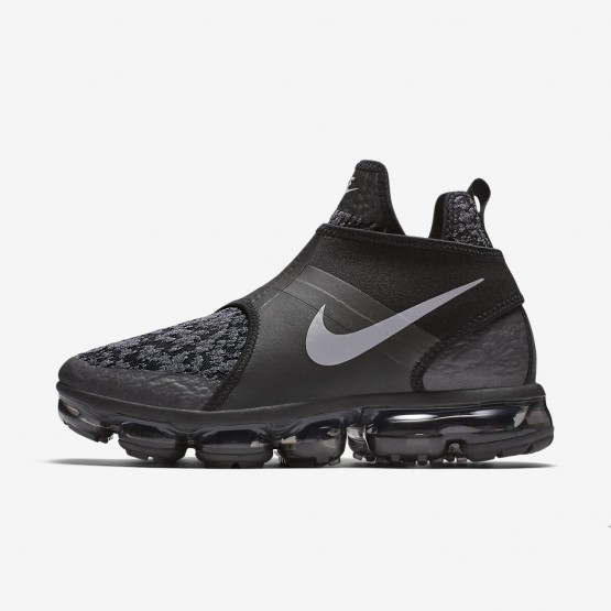 Nike Air VaporMax Chukka Slip Lifestyle Shoes For Men Black/Anthracite/Team Orange/Reflect Silver 771PXMGD