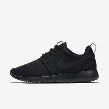 Nike Roshe One Lifestyle Shoes For Women Black/Dark Grey 738LKMAY