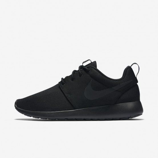 Zapatillas Casual Nike Roshe One Mujer Negras/Gris Oscuro 864GUVRT