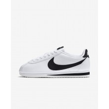 Nike Classic Cortez Lifestyle Shoes For Women White/Black 797HSEOQ