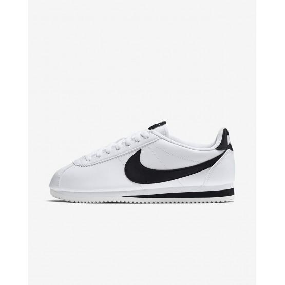 Sapatilhas Casual Nike Classic Cortez Mulher Branco/Pretas 396GNAIV