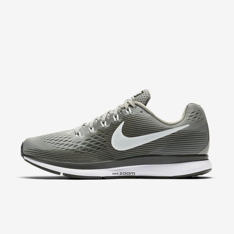 d408d627ec9 Nike Air Zoom Pegasus 34 Running Shoes For Women Dark Stucco Sequoia Black