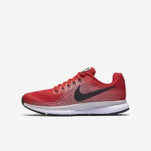 Nike Zoom Pegasus 34 Running Shoes For Boys Speed Red/Vast Grey/Black/Anthracite 953TXABN