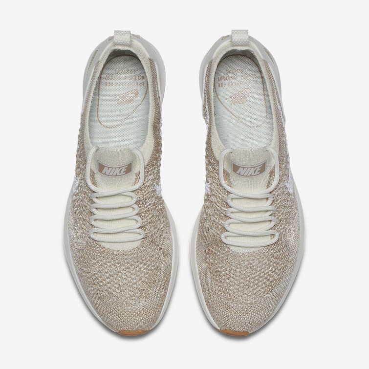 2b6a7ce467a ... Nike Air Zoom Mariah Flyknit Racer Lifestyle Shoes For Women  Sail Sand Gum Yellow ...