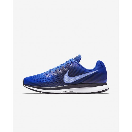 Zapatillas Running Nike Air Zoom Pegasus 34 Hombre Azul Real/Obsidian/Azul Real/Azul Real 435HGJCV