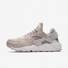 Nike Air Huarache Lifestyle Shoes For Women Vast Grey/Summit White/Particle Rose 332KIWAQ