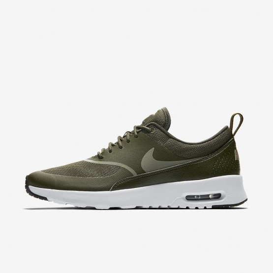 Nike Air Max Thea Lifestyle Shoes For Women Cargo Khaki/Black/Dark Stucco 840TPIDY