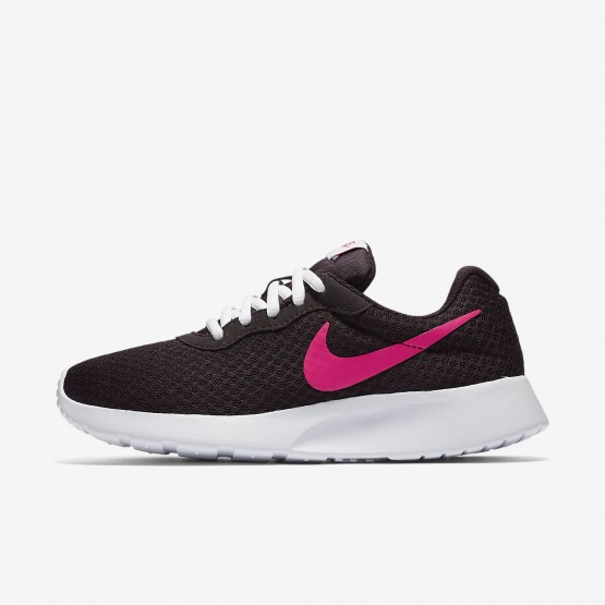 Nike Tanjun Lifestyle Shoes For Women Port Wine/White/Deadly Pink 128FCOHS
