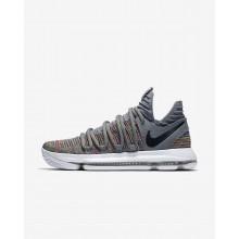 Nike Zoom KDX Basketballschuhe Damen Grau/Weiß/Schwarz 518RBYEC