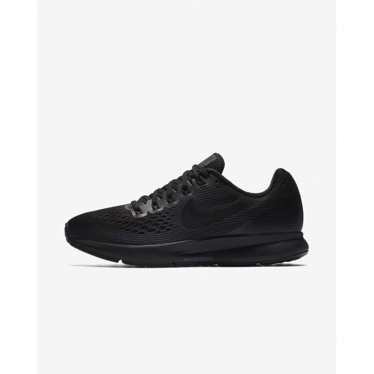 d36e352da5fb Nike Air Zoom Pegasus 34 Running Shoes For Women Black Anthracite Dark Grey  584JINLK