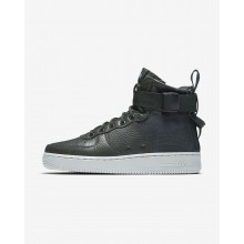Nike SF Air Force 1 Mid Lifestyle Shoes For Women Outdoor Green/Light Pumice 645ZBSHE