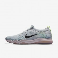 Nike Air Zoom Fearless Flyknit Lux Training Shoes For Women Pure Platinum/Barely Rose/Elemental Rose/Anthracite 450UAQPW