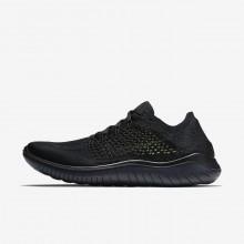 Sapatilhas Running Nike Free RN Flyknit 2018 Homem Pretas 758MXRNK