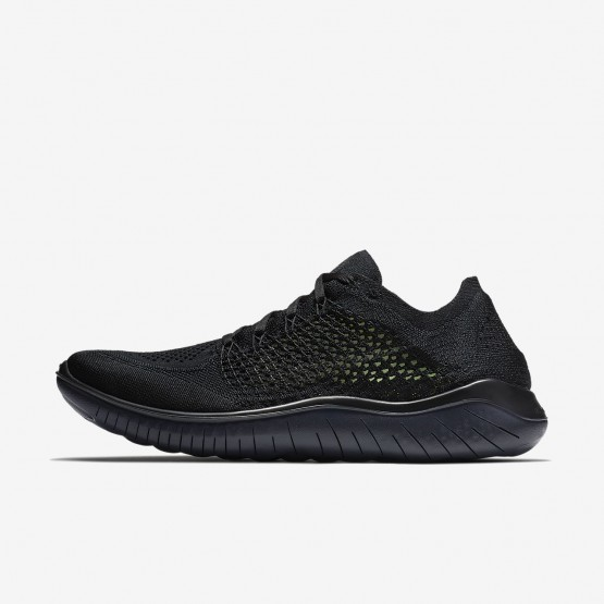 Nike Free RN Flyknit 2018 Running Shoes For Men Black/Anthracite 123UMDAE
