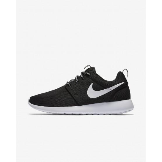 Sapatilhas Casual Nike Roshe One Mulher Pretas/Cinzentas Escuro/Branco 648JRHTG