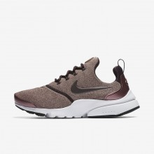 Nike Presto Fly SE Lifestyle Shoes For Women Port Wine/Particle Pink/Black/Metallic Mahogany 197IPSDE