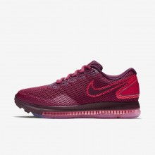 Nike Zoom All Out Low 2 Running Shoes For Women Rush Maroon/Bordeaux 787TCRPF