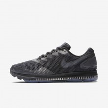 Nike Zoom All Out Low 2 Running Shoes For Men Black/Anthracite/Dark Grey 523JKTHC