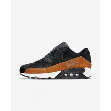 Nike Air Max 90 LX Lifestyle Shoes For Women Tar/Black/Cider 728ZNBHS