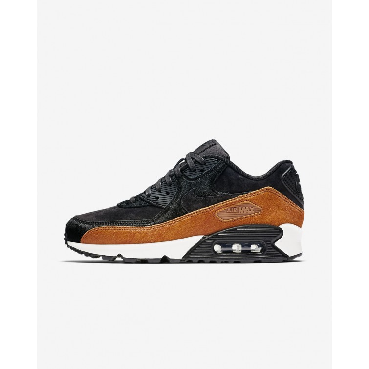11aa90f6e6ad Nike Air Max 90 LX Lifestyle Shoes For Women Tar Black Cider 728ZNBHS