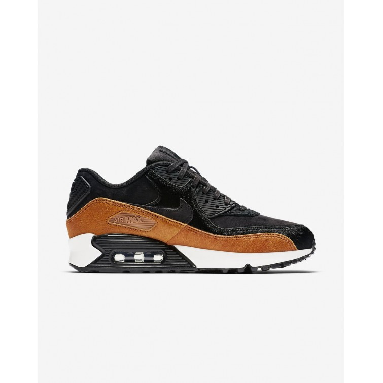 f780efd322db ... Nike Air Max 90 LX Lifestyle Shoes For Women Tar Black Cider 728ZNBHS  ...
