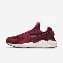 Nike Air Huarache Casual Schoenen Heren Rood/Donkerblauw 856QVNRM