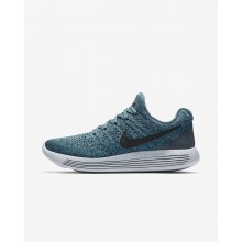 Nike LunarEpic Low Flyknit 2 Running Shoes For Women Iced Jade/Dark Atomic Teal/Blustery/Black 494VCHPN