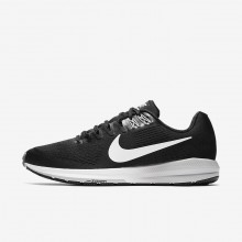 Nike Air Zoom Structure 21 Running Shoes For Men Black/Wolf Grey/Cool Grey/White 179RFBHG