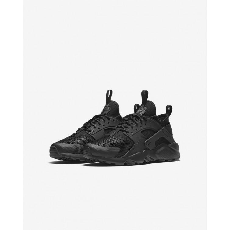 5305eb4b3b1b3 ... Nike Air Huarache Ultra Lifestyle Shoes For Boys Black 698JHZME