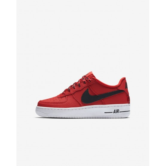 Zapatillas Casual Nike Air Force 1 LV8 NBA Niño Rojas/Blancas/Negras 732RUQGI